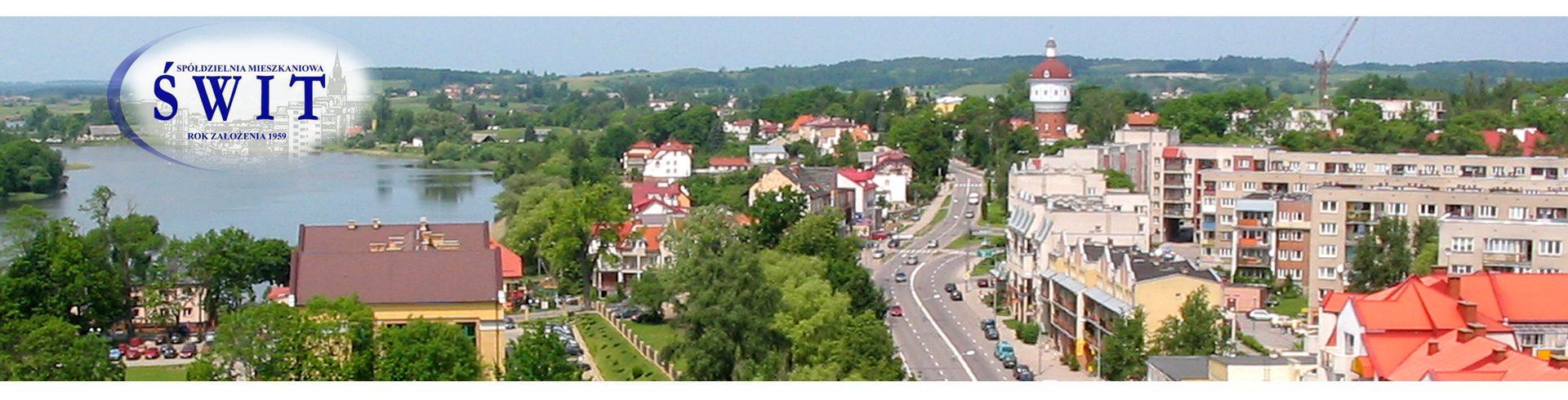 """Spółdzielnia Mieszkaniowa """"Świt"""" w Ełku"""